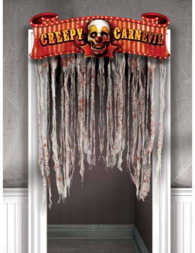 Deur versiering Halloween decoratie