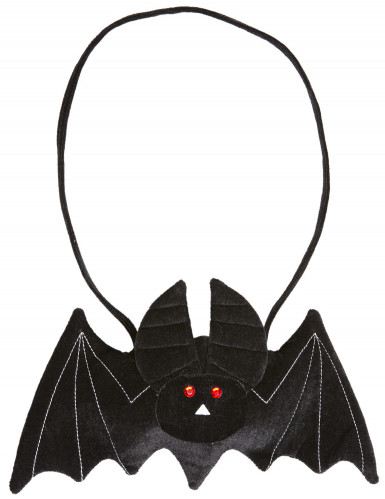 Vleermuis tas voor volwassenen Halloween accessoire