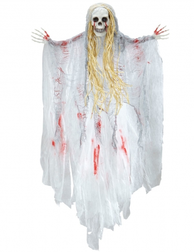 Halloween decoratie bebloed spook