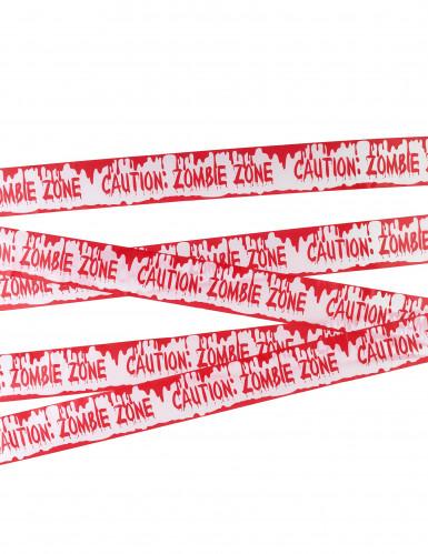 Halloween zombie waarschuwing band