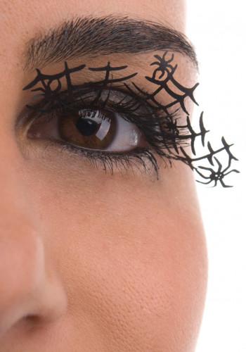 Valse korte wimpers spin voor volwassenen Halloween accessoires