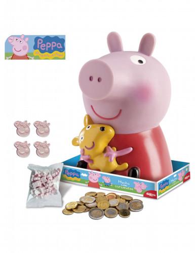 Peppa Pig™ spaarvarken met lolly's