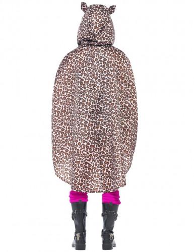 Luipaard poncho voor volwassenen-2