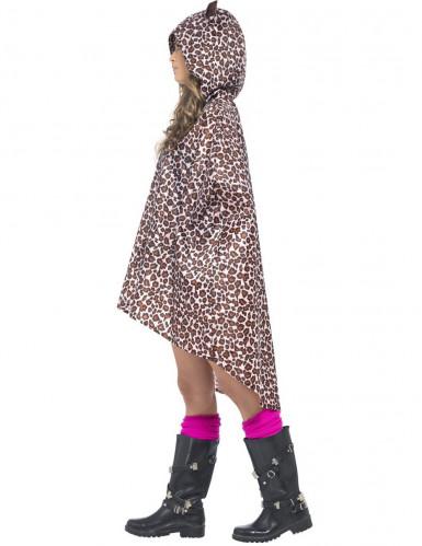 Luipaard poncho voor volwassenen-1