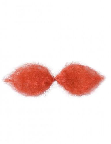 Rode Gallier snor voor volwassen-1