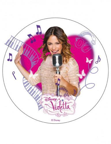Eetbare taartdecoratie Violetta�