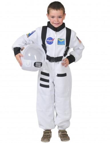 Witte astronaut kostuum voor kinderen