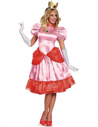 Deluxe Prinses Peach™ kostuum voor dames