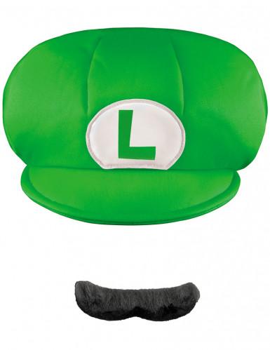 Luigi's™pet en snor voor kinderen