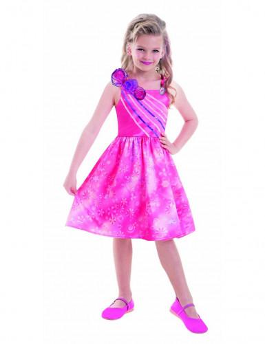 Roze Barbie™ jurk voor meisjes