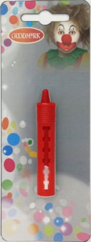 Rood uitschuifbaar schmink potlood