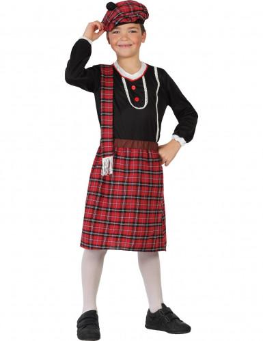 Schotse jongen kostuum met baret