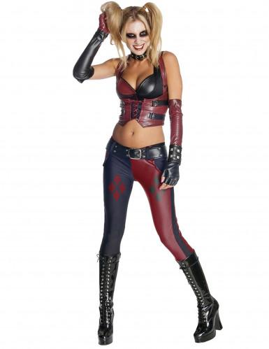 Harley Quinn Batman Arkham City™ kostuum voor vrouwen