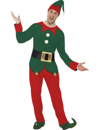 Verkleedkostuum Elf voor heren Kerst