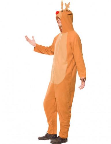 Onesie Rendier kostuum voor volwassenen-1