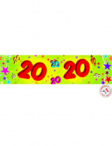 Papieren wimpel 20 jaar