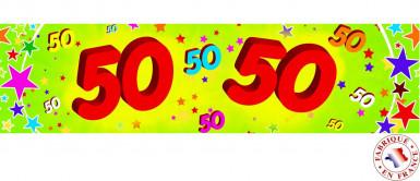 50 jaar banier