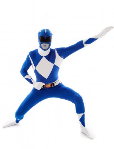 Blauw Morphsuit™ Power Rangers™ kostuum voor volwassenen