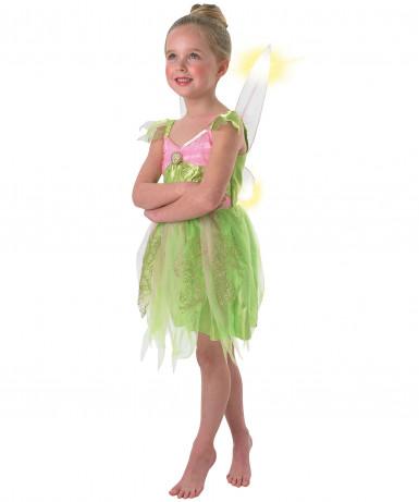 Lichtgevend Tinkerbell™ kostuum voor meisjes