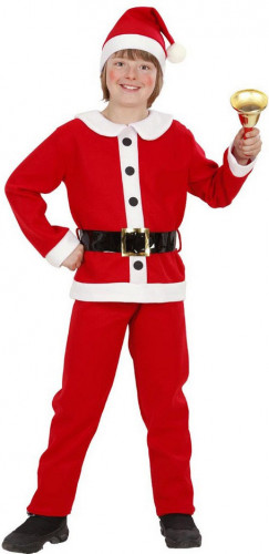 Verkleedkostuum Kerstman voor jongens