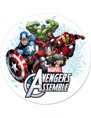 Eetbare taartdecoratie Avengers�