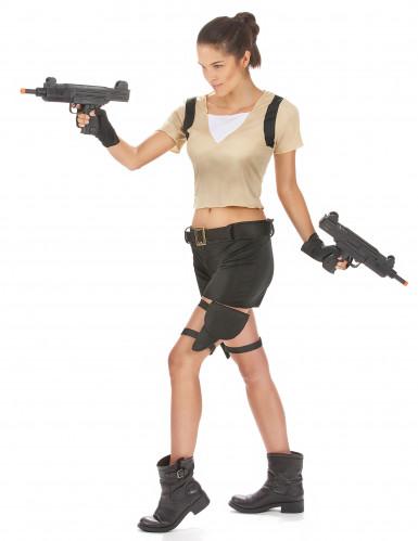 Sexy militair kostuum voor dames-1