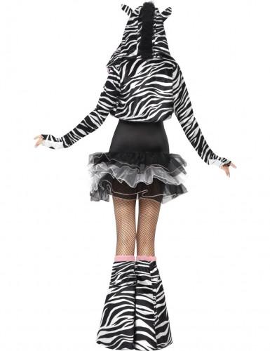 Sexy zebra tutu outfit voor vrouwen-2