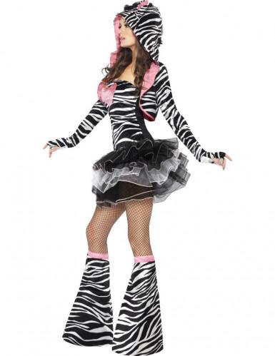 Sexy zebra tutu outfit voor vrouwen-1