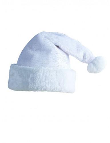 Witte kerstmuts voor volwassenen