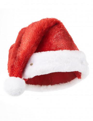 Kerstmuts rood en lichtgevend