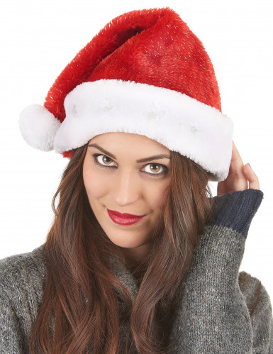 Kerstmuts rood en lichtgevend-2