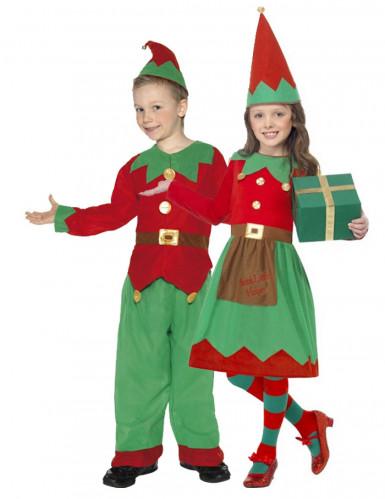 Verkleedkostuum koppel Elf voor kinderen