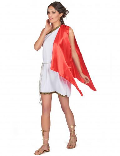 Rode Romeinse familie kostuums-1