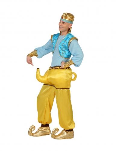 Humor kostuum van een geest (Djinn) voor volwassenen