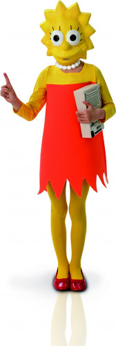 Classic Lisa Simpson ™ kostuum voor meisjes