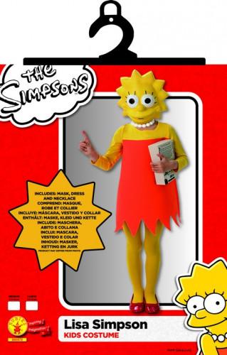Classic Lisa Simpson ™ kostuum voor meisjes-1