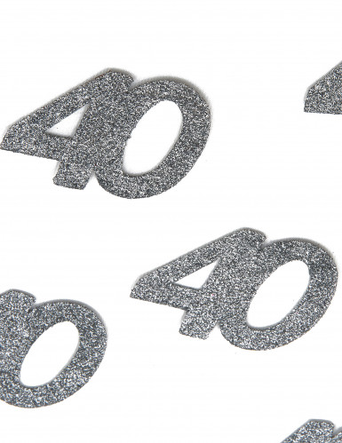 Set van versieringen voor 40 ste verjaardag-1
