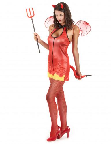 Sexy Halloween duivel kostuum voor vrouwen-1