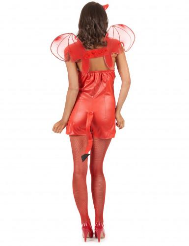 Sexy Halloween duivel kostuum voor vrouwen-2