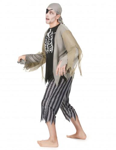 Piraten zombie kostuum voor mannen Halloween-1