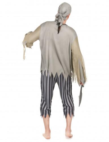 Piraten zombie kostuum voor mannen Halloween-2