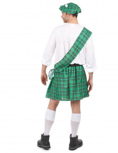 Groen Schotse outfit voor heren-2