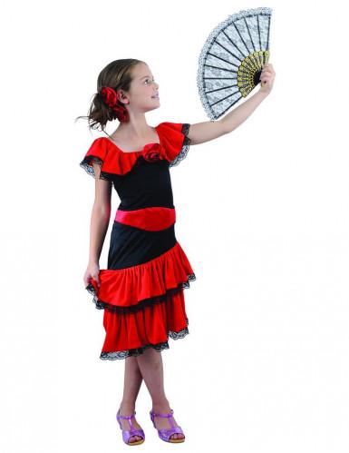 Flamenco danseres outfit voor meisjes
