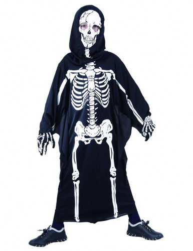 Skeletten outfit voor kinderen