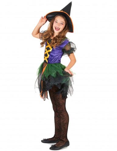 Kleine heksen kostuum voor meisjes-1