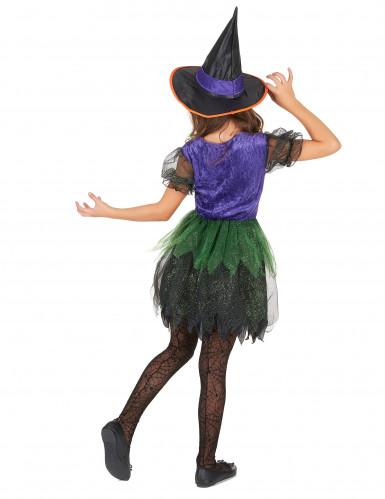 Kleine heksen kostuum voor meisjes-2