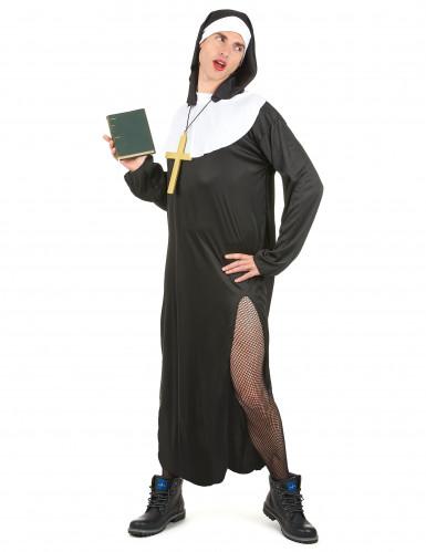 Humoristisch nonnen outfit voor mannen-1