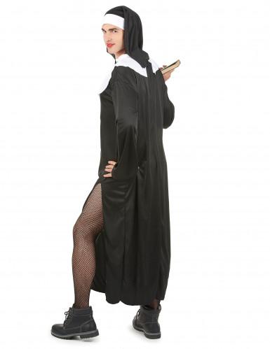 Humoristisch nonnen outfit voor mannen-2