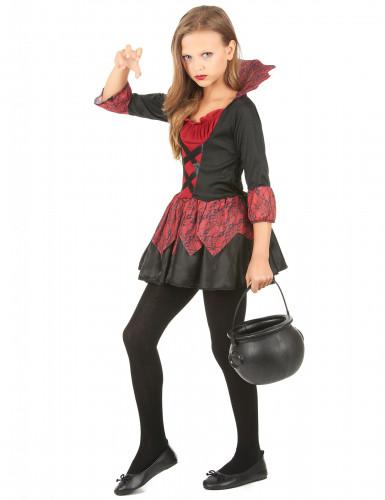 Vampier outfit voor meisjes-1