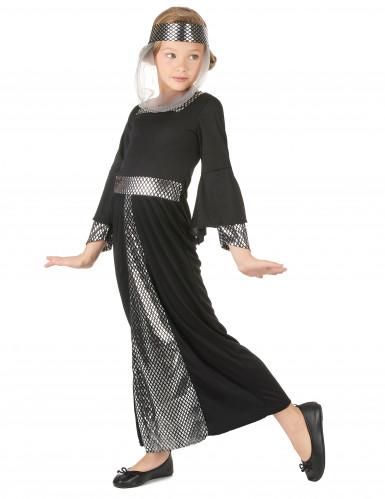 Middeleeuws prinses kostuum voor meisjes-1